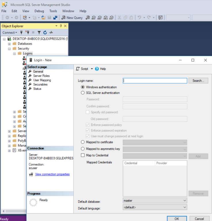 Step 4 Sitecore Xp9 Install Using Sif Ask Your Sql Server To